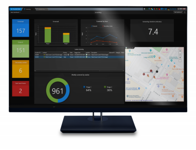 Genetec customers come up with innovative use of Mission Control decision support system to screen employees and visitors