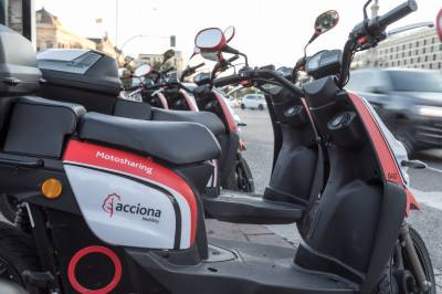 ACCIONA BECOMES WORLD'S LARGEST SHARED MOTORCYCLE OPERATOR