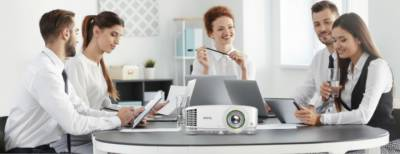 BenQ 's Smart Projector Range for Business offers Effortless Wireless Projection & Video Conferencing Capabilities