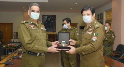 A farewell ceremony was held in the honor of Addl IG Inam Ghani by IG Punjab at CPO