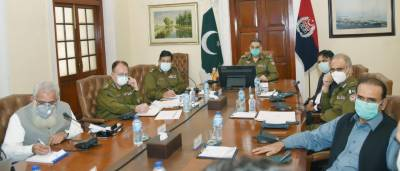 IG Punjab chaired a session regarding IT projects of Punjab Police at central police office