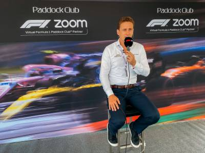 Formula 1® and Zoom Announce First Virtual Paddock Club Partnership