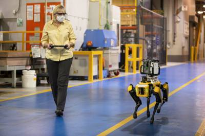 No Bones About It: Ford Experiments with Four-Legged Robots, to Scout Factories, Saving Time, Money
