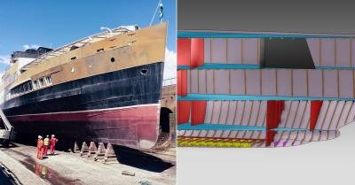 AVEVA Donates 3D Virtualization Technology to Support the Restoration of TS Queen Mary
