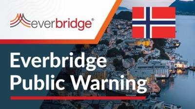 Country of Norway Relies on Everbridge Public Warning to Alert Citizens Traveling Internationally to Mitigate COVID-19 Risks