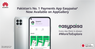 Pakistan's No. 1 Payments App Easypaisa Now Comes to HUAWEI AppGallery