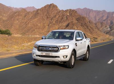 In for the long haul: Ford Ranger achieves more than 1,250km on a single tank of diesel