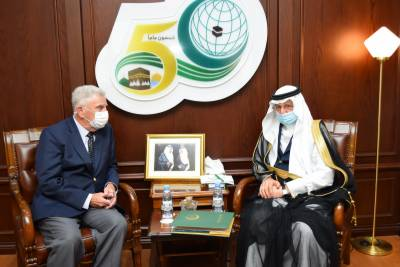 OIC Secretary General and US Ambassador to Saudi Arabia explore ways for greater cooperation