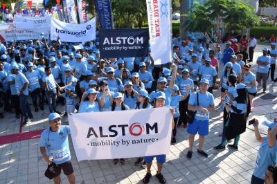 Alstom goes full steam ahead with CSR initiatives in support of communities across the UAE