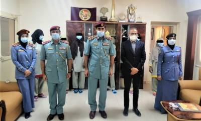 Ajman Police honours Pure Gold Jewellers for their contribution to fly home 175 insolvent inmatesfromAjman Punitive and Correctional Institution