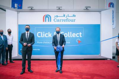 Carrefour Expands into DIFC and Introduces the Region's First Automated Click & Collect Service