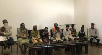 14 members of Pakistan Hindu minority community return from India after 6 months