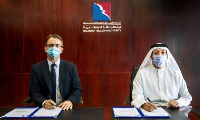 Sharjah's Hamriyah Free Zone inks deal with Lamprell, leading provider of fabrication, engineering and contracting services to the energy industry