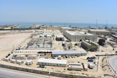 ACCIONA PRODUCES FIRST CUBIC METER OF WATER AT AL-KHOBAR DESALINATION PLANT IN SAUDI ARABIA