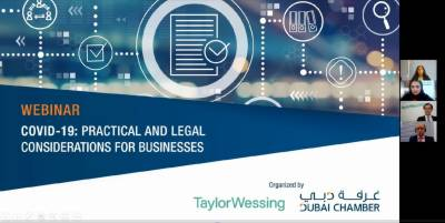 Webinar addresses practical and legal considerations for businesses during COVID-19