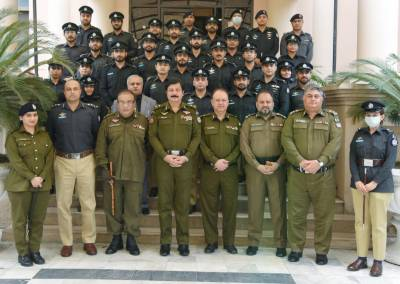 Study visit of trainee ASPs from 46th Common to Central Police Office, Lahore.
