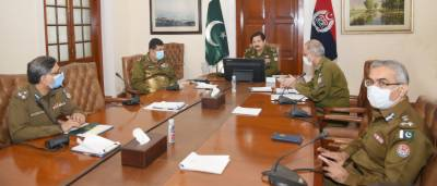 Meeting chaired by IG Punjab was held with respect to matters of human resource management at CPO.
