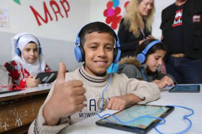 Abdul Aziz Al Ghurair Refugee Education Fundpartners with Discovery Education to deliver high-quality online learning to thousands of refugees and vulnerable youth in Lebanon