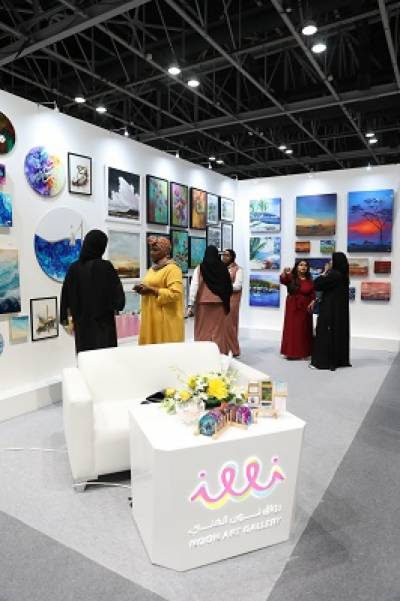 Sharjah Ladies Club Nurtures Promising Talent at World Art Dubai