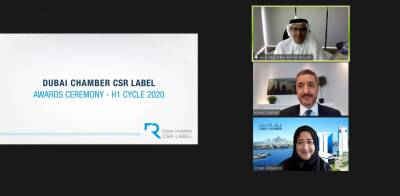 Dubai Chamber presents 17 companies with CSR Label for outstanding efforts in H1-2020