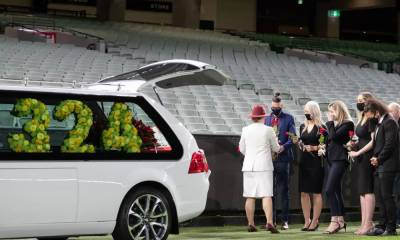 Former Australian Cricketer Dean Jones has been Laid to Rest