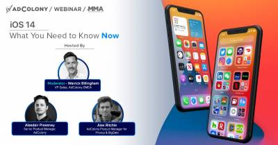 Join Ad Colony and MMA on the 12th of October to unlock the details of the privacy changes of Apple's iOS 14!