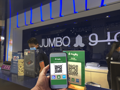Jumbo Electronics adopts smart payment solutions from PayBy, enhancing customer experience
