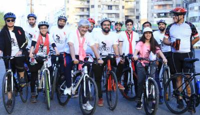 """GREENSTAR AND THE FIRST-LADY ENABLE BREAST-CANCER AWARENESS WITH """"RIDE-FOR-A-CAUSE"""""""