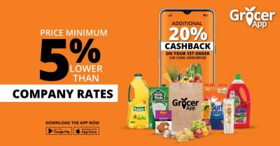 GrocerAppSets the Stage with highly competitive prices in the E-Grocer Market