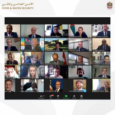 H.E. Mariam Almheiri Participates in Virtual CFS High-Level Special Event Alongside Prominent Food Security Experts and Decision Makers