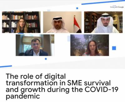 The Ministry of Economy and Dubai Chamber, along with Google, discuss ways to support digital transformation and enhance economic recovery for SMEs in the country