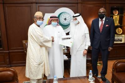 OIC Delivers ISF Grant to the Gambia to Tackle COVID-19