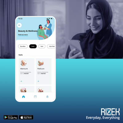 Rizek partners with Bedashing to offer the UAE's best beauty home services