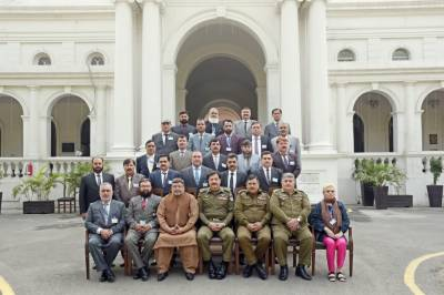 KP Police Officers in 6th Junior Command Course Study Visit to Central Police Office.