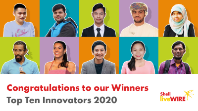 THREE YOUNG PAKISTANI BUSINESSES WIN SHELL GLOBAL INNOVATION PRIZE