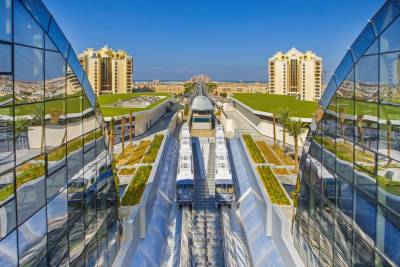 The Palm Monorail offers visitors of Palm Jumeirah a new scenic experience in time for long UAE National Day weekend
