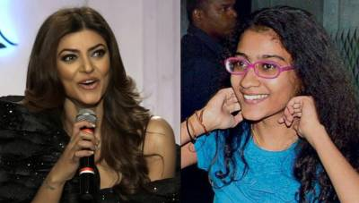 Sushmita Sen's daughter also entered the world of acting