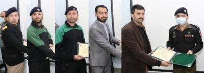 40 days training of 35 computer operators (TOT) of Gilgit-Baltistan completed at Police Training College Chung.