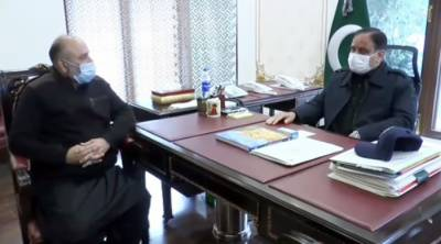 Yawar Bukhari meets Chief Minister, discusses measures for welfare of weaker sections, briefs on performance of department