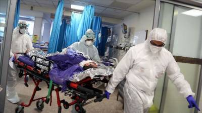 A further 2432 people were diagnosed with corona, 45 of whom died