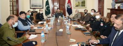 IG Punjab chaired the First video link RPOs, DPOs Crime Meeting of New year