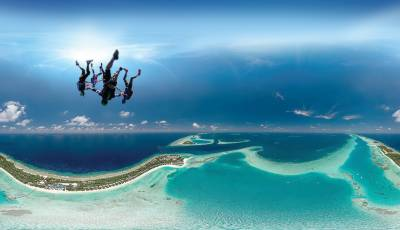 Kandima Maldives launches its coolest adrenaline filled new skydiving programme