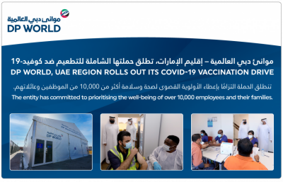 DP WORLD, UAE REGION ROLLS OUT ITS COVID-19 VACCINATION DRIVE