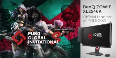 BenQ ZOWIE's Latest Gaming Solution, XL2546K Is The Official MonitorOf PUBG Global Invitational.S 2021