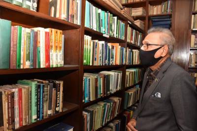 The library of Quaid-e-Azam Academy is a very important platform for preserving national history, which requires digitization of all rare books, said President Dr. Arif Alvi.