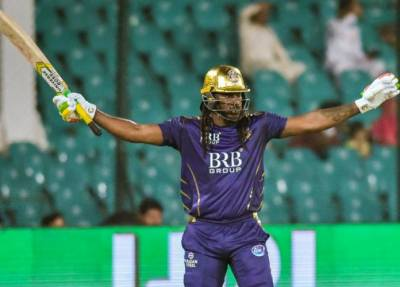 Chris Gayle's current trip to PSL 6 is over, he will return home