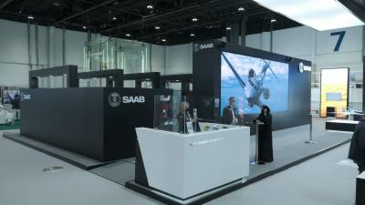 Saab inks multiple agreements with Tawazun at IDEX 2021