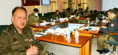 Additional IGP PHP Shahid Hanif chaired a meeting at CPO to review the performance of Punjab Highway Patrol