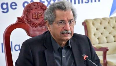 All schools will go back to regular 5 day classes from Monday March 1: Federal Education Minister Shafqat Mahmood