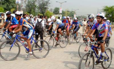 Cycling competitions will be held in Lahore on February 28